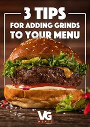 E-Book - 3 Tips for Adding Grinds to Your Menu